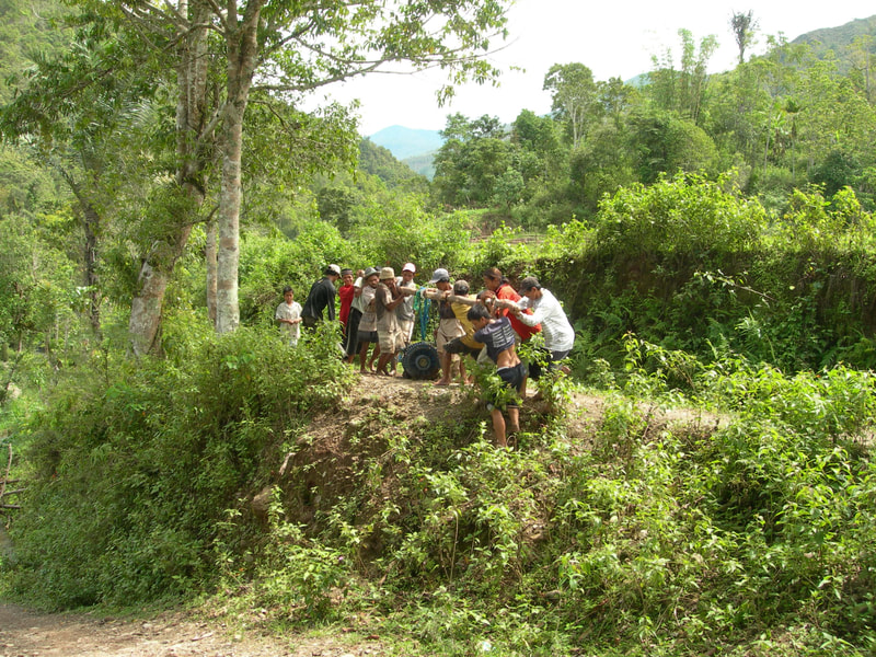 'Gotong Royong' or collective action in the village. Credit: T. Mumpuni